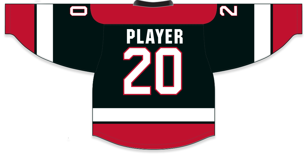 Personalized hockey jerseys cut & sew made in canada