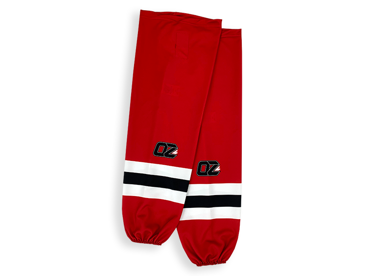 Sublimated hockey socks Bas de Hockey sublimés